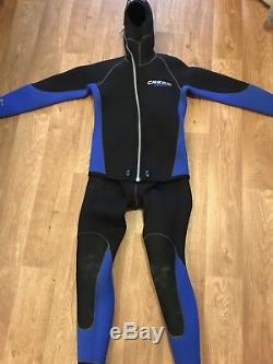 Cressi Mens Large 2 Piece Wetsuit