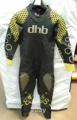 DHB Aeron Mens Triathlon Open Water Swimming / Swim Rum Wetsuit Large