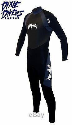 DXDIVER 3mm DXFLEX WETSUIT SIZE 2X-LARGE SCUBA DIVE JUMPSUIT FREEDIVING SURFING