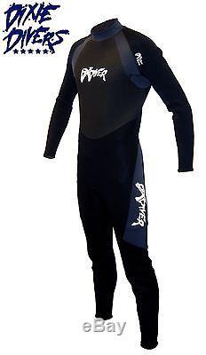 DXDIVER 3mm DXFLEX WETSUIT SIZE LARGE SCUBA DIVING JUMPSUIT FREEDIVING SURFING