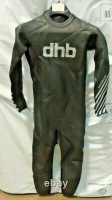 Dhb Mens Hydron 2.0 Triathlon / Open Water Swimming Wetsuit Size Large