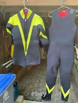 FATHOM 2 PIECE 7mm COLD WATER WET SUIT Size Med/Large