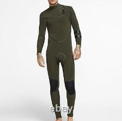 HURLEY Men's 3/2 ADVANTAGE MAX Zip Free Wetsuit 355 -Size Large LAST ONE LEFT