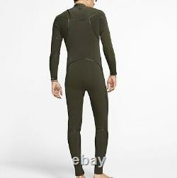 HURLEY Men's 3/2 ADVANTAGE MAX Zip Free Wetsuit 355 -Size Large NWT