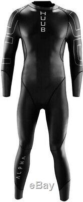 HUUB Alpha 2.3 Mens Wetsuit Black