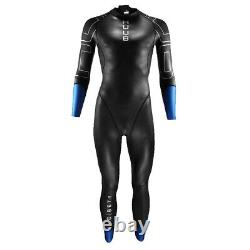 HUUB Alpha Beta Mens Swimming Triathlon Fullsuit Swimsuit Wetsuit Black