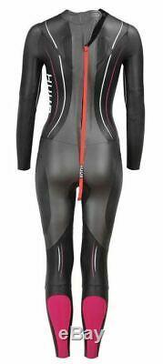 HUUB Triathlon Womens Wetsuit Axena ACA342LUK Black Pink Large New