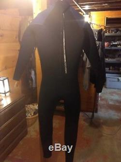Henderson 7mm Thermoprene Jumpsuit / Wetsuit Large Tall, Black/Blue
