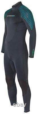 Henderson Greenprene 7mm Full Back Zip Scuba Diving Wetsuit Men's