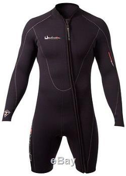 Henderson Men's 3mm Wetsuit Front Zip Thermoprene Jacket Shorty BEST SELLER