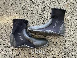 Henderson Titanium Wetsuit 7/5mm -Men's Large, Plus Size 10 XCEL Boots