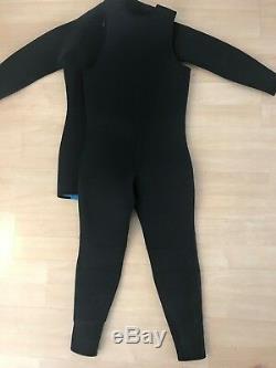 Henderson USA Black size Large Neoprene 7mm 2- Piece Wet suit Fleece