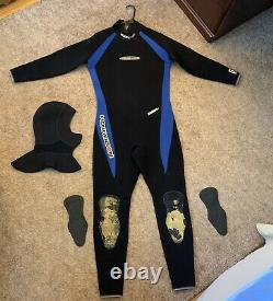 Henderson Wetsuit One Piece Large 5mm (Comes With Diving Hood)