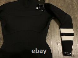 Hurley Advantage Elite 3/2+mm Fullsuit Men's Sz Large L Black BV4398 010