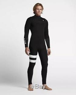 Hurley Advantage Elite 3/3 Full Wet Suit Surfing Diving Large Short LS