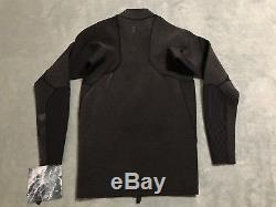 Hurley Advantage Max 2/2MM JKT Wetsuit Mens LARGE L Black Heather Gry 890929 032