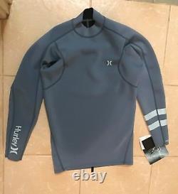 Hurley Advantage Plus 1mm Jacket Blue Mens Large Wetsuit Rashie