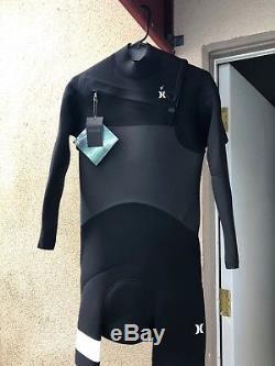Hurley Advantage Plus 4/3 Full Wetsuit Black Men's Large Brand New