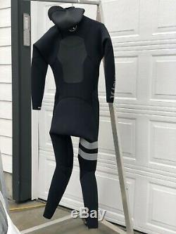 Hurley Fusion 5/3mm Hooded Wetsuit Large