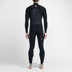 Hurley Men's Phantom Limited 202 Fullsuit Wetsuit (Large) Black/Black