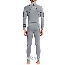 Hurley Phantom 303 Full Length 3mm Wetsuit, Cool Grey Men's Ultra Surfing Suit