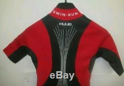 Huub Auron Swimrun Wetsuit 2019 35 L Black/Red