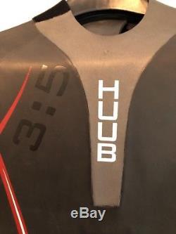 Huub mens Aerious 35 ML Medium-Large Fullsleeve Wetsuit