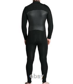 IMPERIAL MOTION Men's 4/3 LUX DLX Chest-Zip Wetsuit Black Large NWT LAST ONE