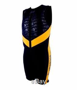 INTENSITY Mens Water Ski BAREFOOT Comp Buoyancy Wetsuit Wet Suit NEW