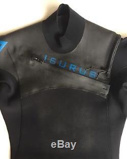 Isurus Alpha Elite 232 Mens Wetsuit. Size Large Short (LS)