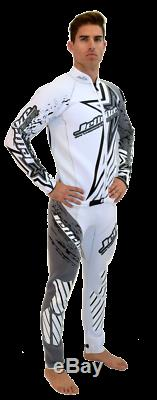 Jettribe Shockwave Grey / White Wetsuit PWC Jet Ski Ride & Race Freerider 14414W