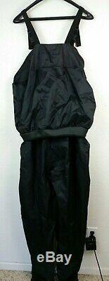 KOKATAT GORE-TEX WHIRLPOOL BIB TROUSERS Large Black