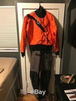 Kokatat Hydrus 3L Wetsuit Men's Large (Orange)