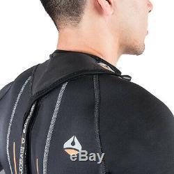 LavaCore Men's Back Zip Full Suit Scuba Diving Surf Wetsuit (All Sizes)