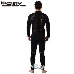 MENS 5MM Neoprene SCR Scuba Diving Wet Suit Full Body Wetsuit Snorkeling Surf