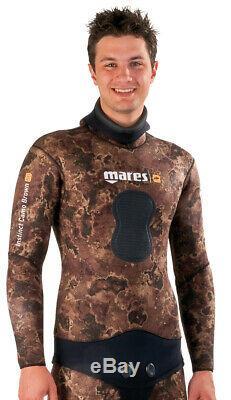 Mares Instinct Camo Brown 7mm Neoprene Jacket