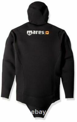 Mares Pure Instinct 3mm Spearfishing Freediving Wetsuit Jacket Black Large