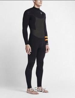 Men Hurley Phantom Limited 202 Fullsuit Men's Wetsuit MFS0000220 Size L Large