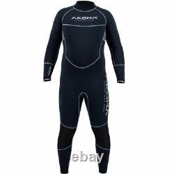 Men's 7mm Quantum Stretch Wetsuit Sizes SM, MD, ML, LG, XL, 2XL