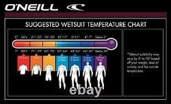 Men's Reactor-2 3/2mm Back Zip Full Wetsuit, Black/Black, Large Wetsuit