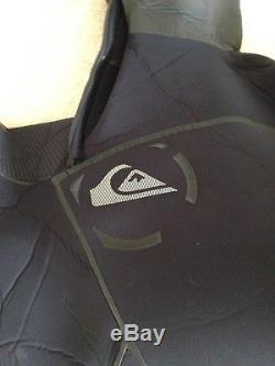 Mens Quiksilver Cypher Wetsuit 6/5/4 Large in new condition