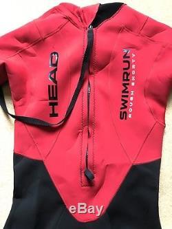 Mens Swimrun Wetsuit Head Rough Shorty Large Excellent cond rrp £180 triathlon