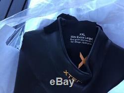 Mens Xterra wetsuit Vortex 3 Fullsuit 2X Large with Mesh bag NEW