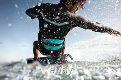 Mystic Marshall 4/3mm Front Zip Full Wetsuit 2020 Navy/Lime Kitesurf Wind Surf