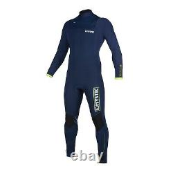 Mystic Marshall 4/3mm Front-Zip Fullsuit Wetsuit 2020 Navy/Lime Size L