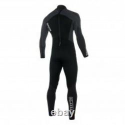 Mystic Star 3/2 Backzip Kiteboarding Wetsuit, Black, Size X-Large Tall