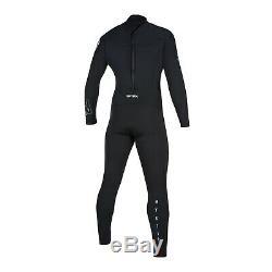 Mystic Star Kitesurfing Windsurf Surf Mens 4/3mm Back Zip Wetsuit Black