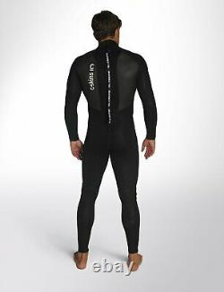 NEW 2020 C-Skins Element 32 Mens Steamer Wetsuit Back Zip Black