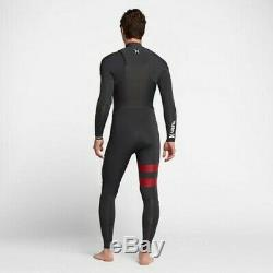 NEW $280 Men's Hurley Advantage Plus Wetsuit 4/3 FullSuit Anthracite MT L LT XXL