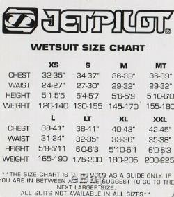 NEW Jet Pilot Atron Mens 4/3mm Full Suit Surfing Dive Wakeboard Wetsuit Ret$370